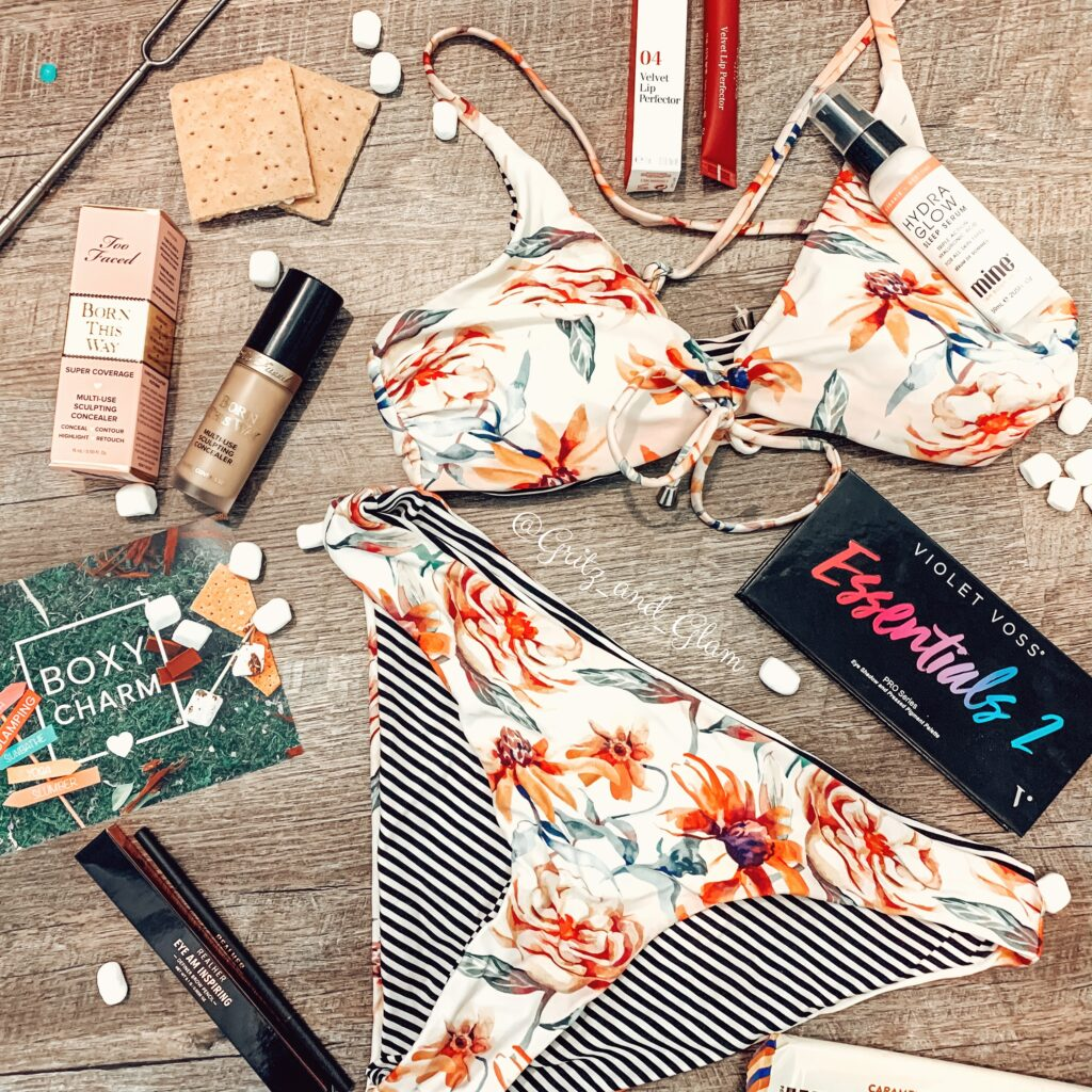August BoxyCharm Glamping